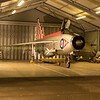 XR713 back in the QA hanger , donated to the society when RAF Binbrook was closed and dismantled