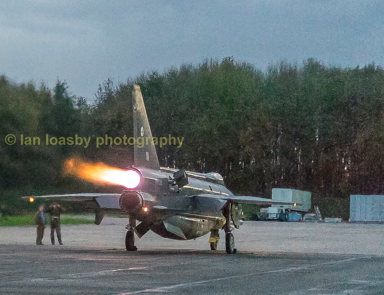 XR728's after burner seems to be working fine on one engine at least