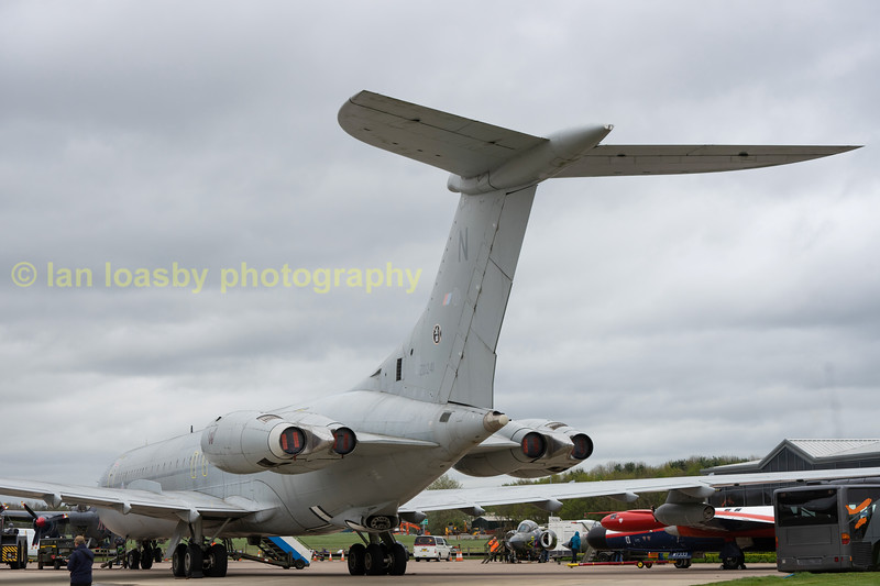 Ex RAF  VC10 that was open for inspection, which included the cockpit