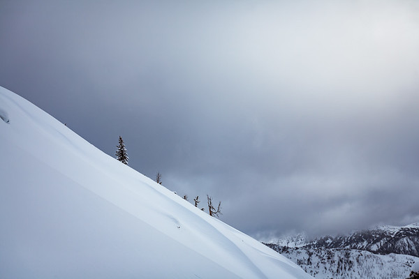 Landscape of Republic Peak, Cooke City, MT. For John Colter Project.