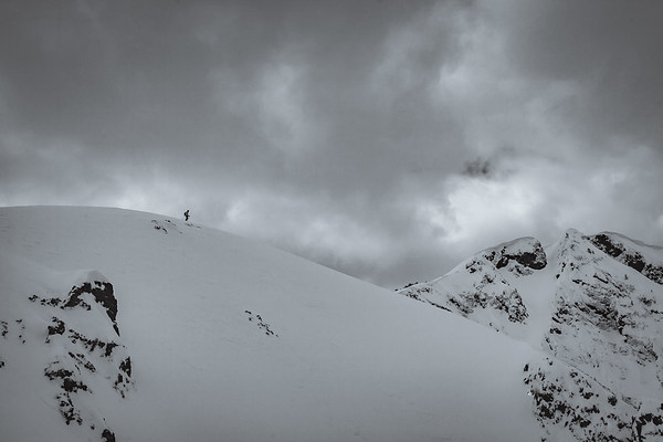 Sawyer Thomas on Republic Peak. For John Colter Project.