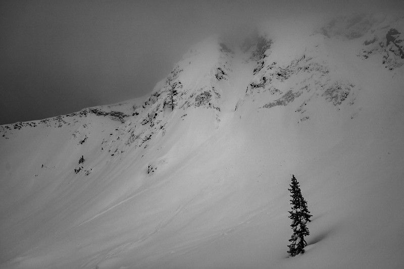 Landscape of Republic Peak, Cooke City, MT. For John Colter Project.