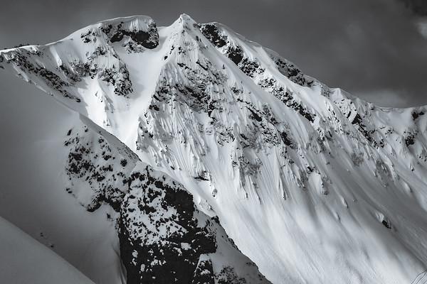 Landscape of Republic Peak. For John Colter Project.