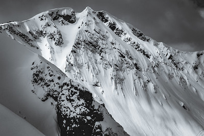 Landscape of Republic Peak. For John Colter Project.