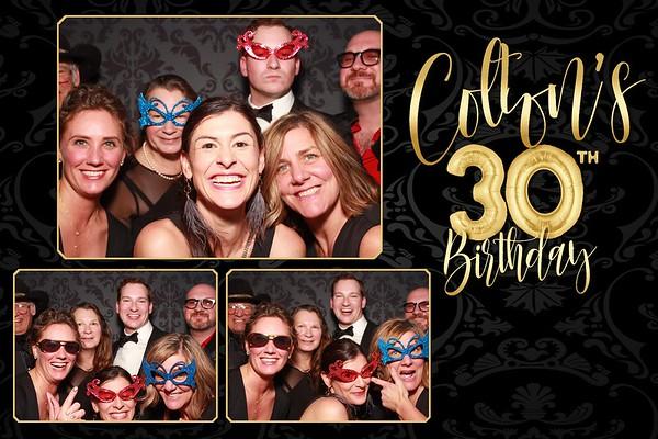 Colton's 30th
