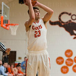 Chase Shellman (23) posted a three for the Colts.