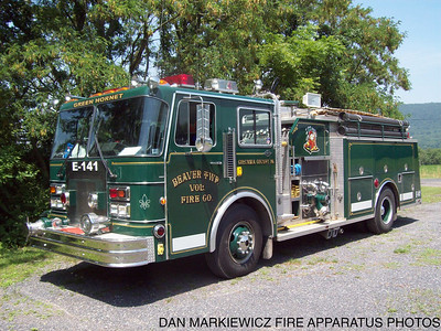 BEAVER TWP. FIRE CO. FORMER ENGINE 141 1988 SPARTAN/3D PUMPER