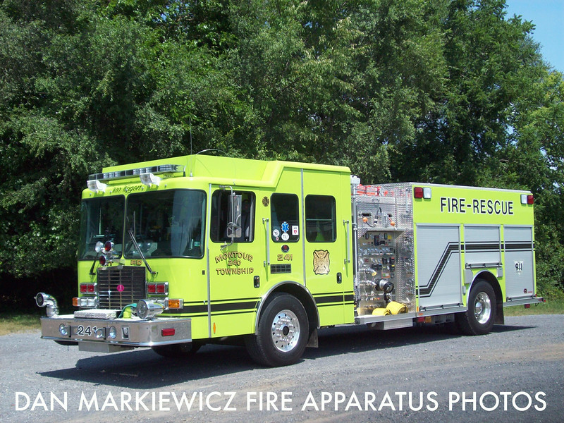 MONTOUR TOWNSHIP FIRE CO. ENGINE 241 2012 HME/ROSENBAUER ENGINE RESCUE