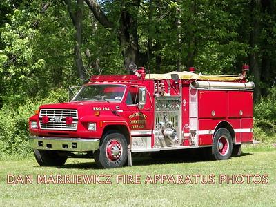 LIGHTSTREET COMMUNITY FIRE CO. ENGINE 194 1989 FORD/FMC PUMPER
