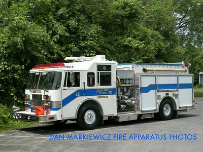 ESPY FIRE CO. X-RESCUE 181 1997 PIERCE PUMPER/RESCUE