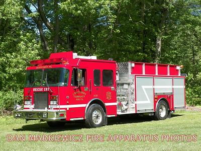 LIGHTSTREET COMMUNITY FIRE CO. RESCUE 191 2004 SPARTAN/4GUYS PUMPER/RESCUE