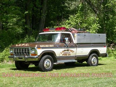 LIGHTSTREET COMMUNITY FIRE CO. BRUSH 193 1979 FORD/LCFC BRUSH UNIT