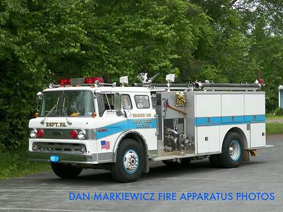 ESPY FIRE CO. X-ENGINE 183 1983 FORD/PIERCE PUMPER