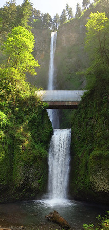 Multnomah Falls and Historic Route US 30, May 13, 2014