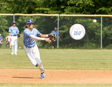1F1A1952 jpg Jonah James fires over to first to get an out in the second inning