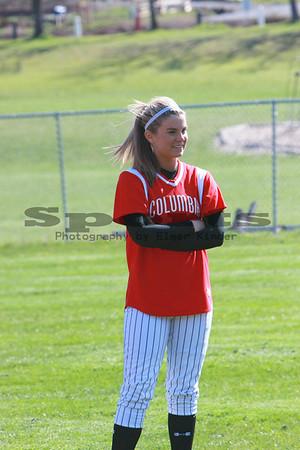 Columbia High School Softball 2009