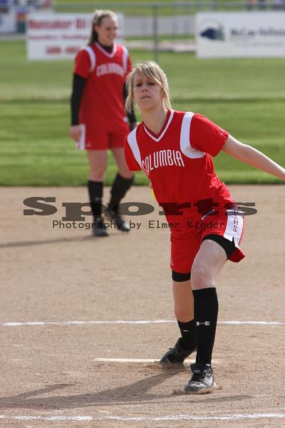 CHS Varsity Softball vs Kalama 05/02/08