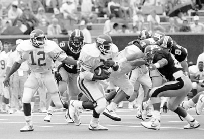 Missouri Tigers vs. Texas Christian University Horned Frogs 1989