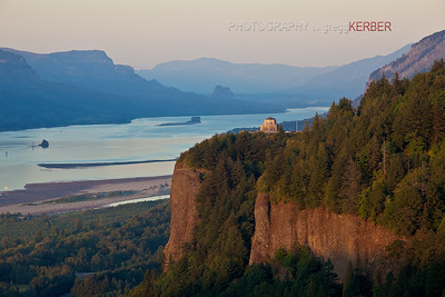 Vista House and Crown Point.