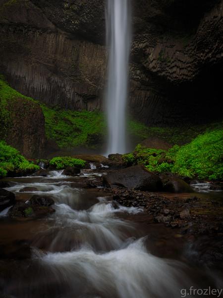 Latourell Falls, Multnomah County, OR