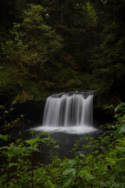 Upper Butte Creek Falls, Scotts Mills, OR