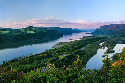 River Gorge Sunset