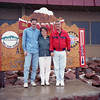 06/1993 Atop Pikes Peak (14,000 feet)<br /> Air's thin - Rich and Phil are holding me up