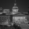 Statehouse at Night B&W<br /> December 18, 2013<br /> Columbia, South Carolina<br /> Canon 5D Mark III