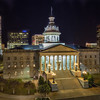 Statehouse at Night<br /> December 18, 2013<br /> Columbia, South Carolina<br /> Canon 5D Mark III