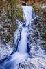 Bridal Veil Falls Deep Freeze, Columbia River Gorge