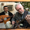 Bruce Cockburn with Oud player in Baghdad