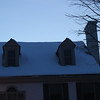 Aperture: f-5.6<br /> Iso:3200<br /> Shutter Speed:1-30<br /> <br /> As you can see there is a lot of snow on the roof of this house.
