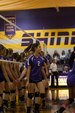 Shiner High JV VB 10-14-16