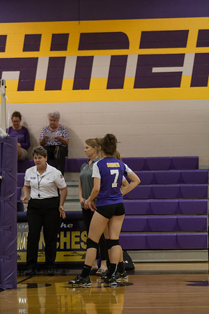 Shiner High JV VB 9-6-16