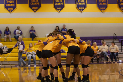 Shiner High Varsity VB 9-16-16