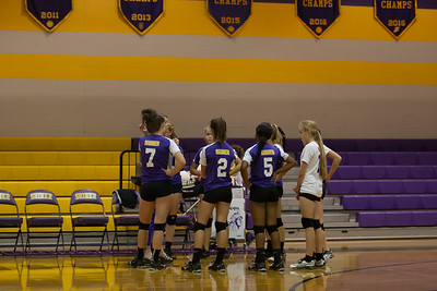 Shiner JV Volleyball vs Flatonia 10-25-16
