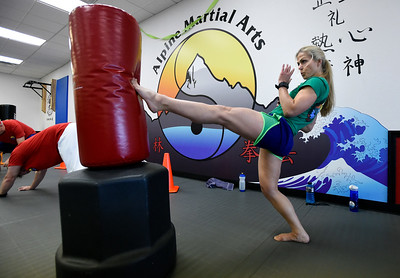 Combat Fitness Workout at Alpine Martial Arts