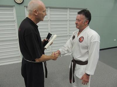 Combat Karate Black Belt Gradings 2015