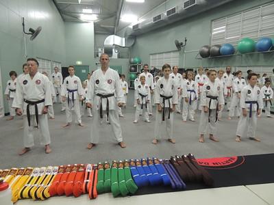 Combat Karate Grading December 2015