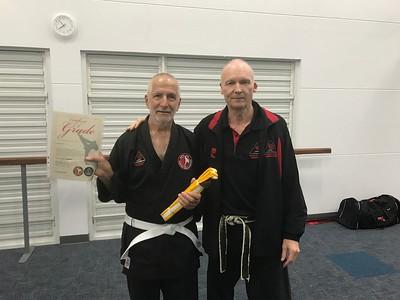 Combat Self Defence Gradings September 2017