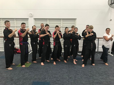 Combat Self Defence Knife and Stick Defence Course August 2018