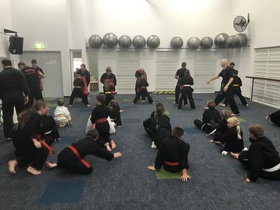 Combat Self Defence Pre Grading Course September 2017