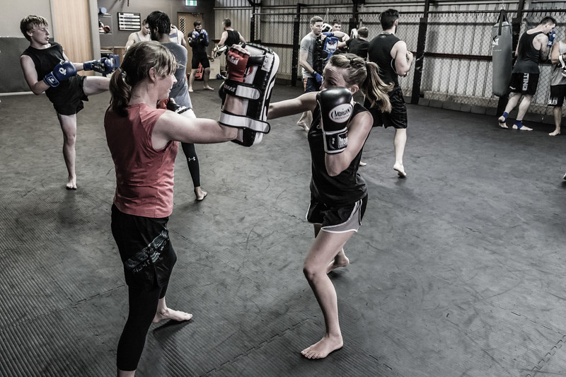 Two of my favourite training partners... Ok, so I have lots of favourite training partners, but here are two of them smashing it out at Thai class on Thursday.   http://www.hobartmartialartsacademy.com.au/  16 March 2017  © Fiona Gumboots - http://www.thegumbootchronicles.com All images are copyright and not to be reproduced, distributed, published, altered, manipulated or used without my permission.  Sharing via the 'share' button on facebook is more than welcome.