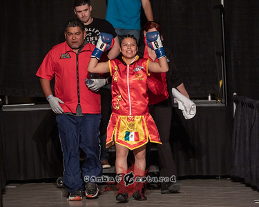 KO Boxing 88: Bout 3: Mikenna Tansley vs Ava Castro