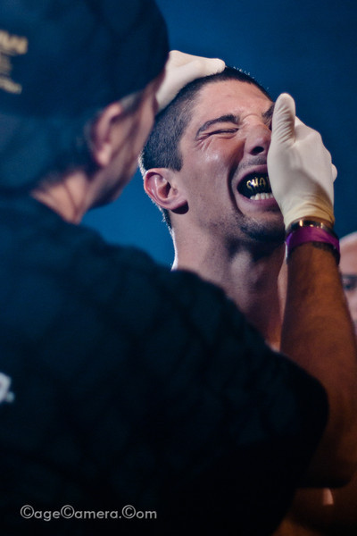 Brendan Schaub, before entering the cage at UWC 4 Confrontation.