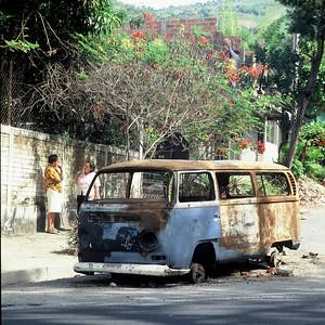San Salvador, El Salvador. December 1996