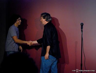 Richard Stockton and Sammy Obeid