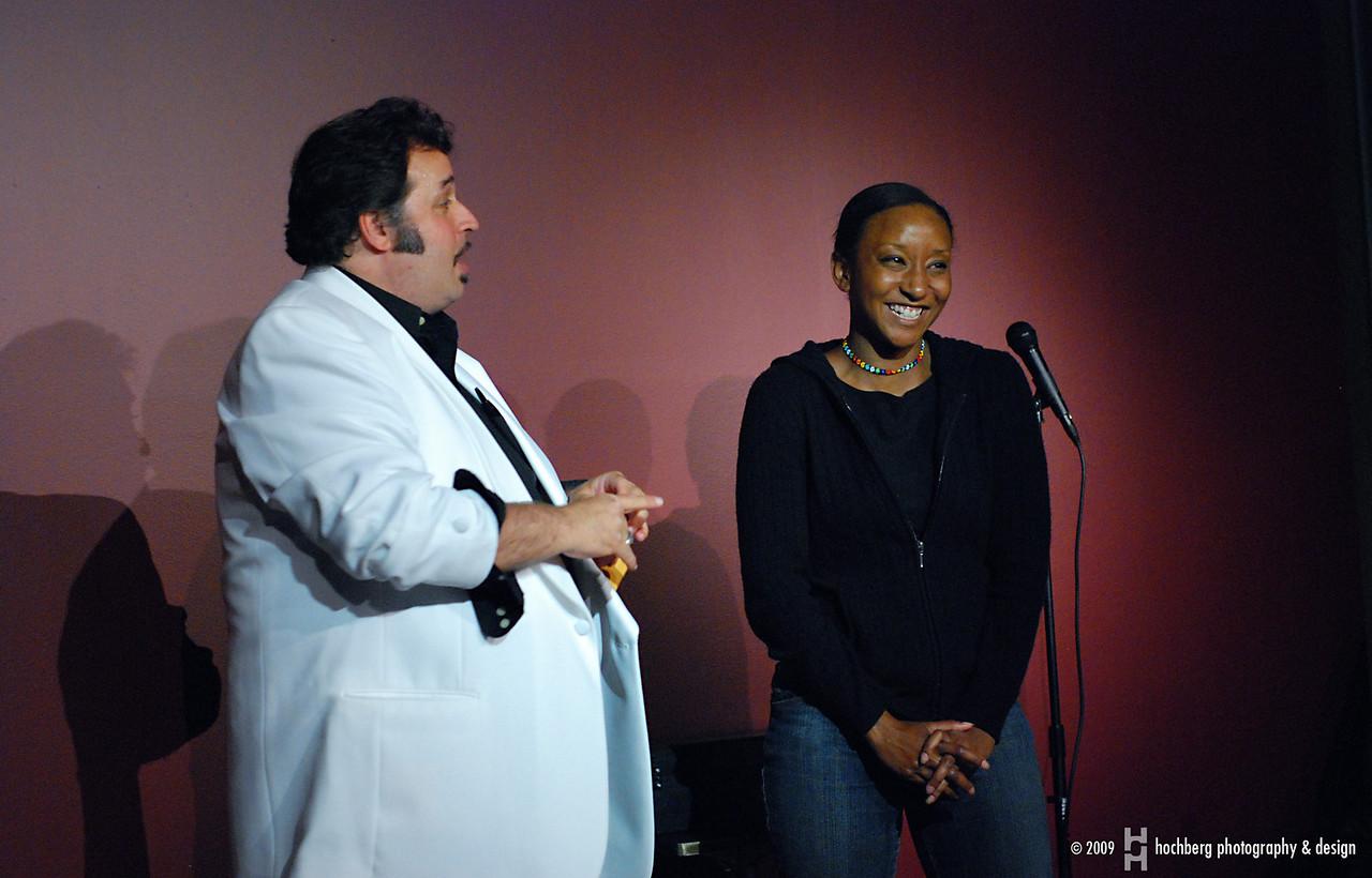 Big Al Catraz and Donna