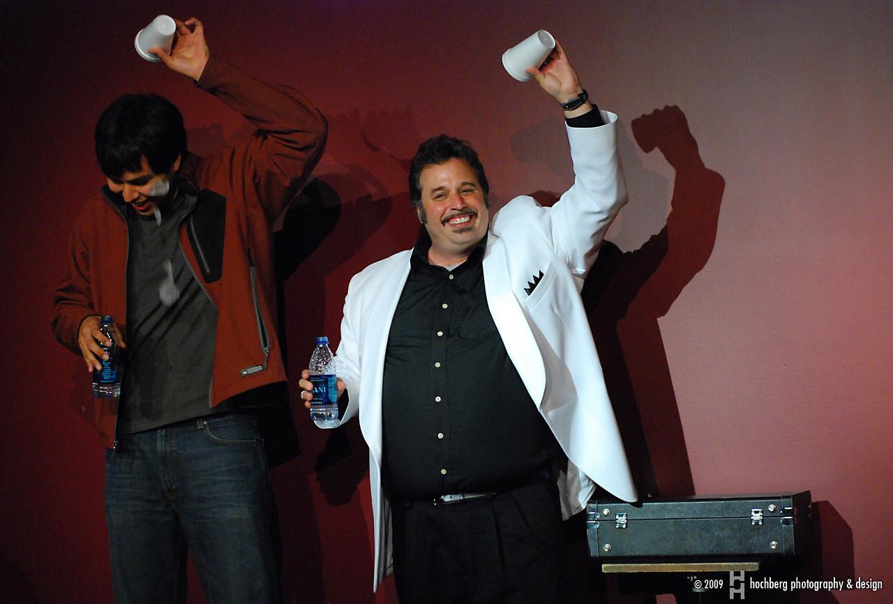 Big Al Catraz and Gilbert