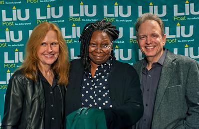 Mrs. Elliot Sroka, Whoopi Goldberg and, Dr. Elliot Sroka.